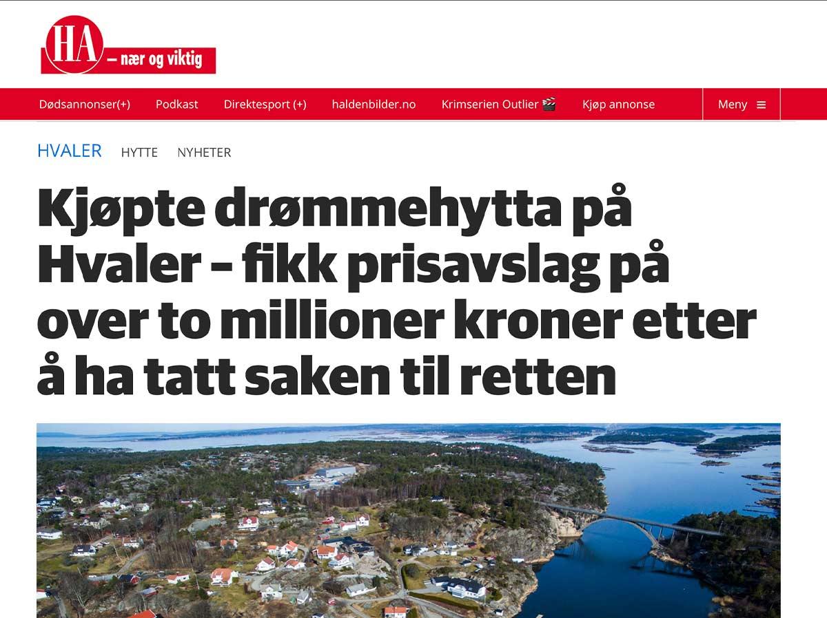 Faksimile Halden Arbeiderblad